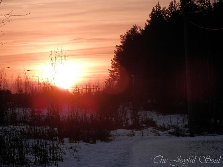 Sunset Jan 4th 2016