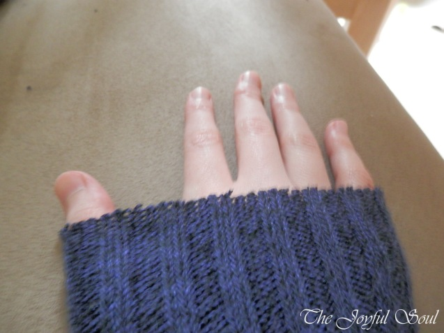 Upcycled Sock Arm-Warmers 3