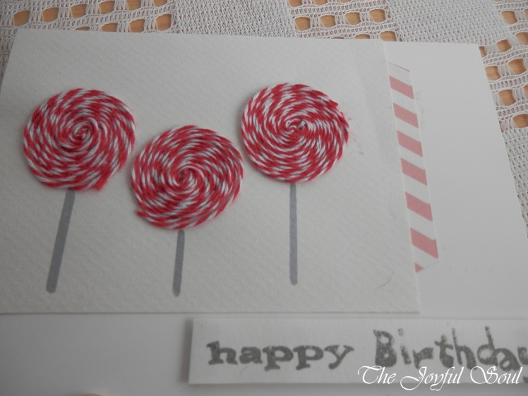 Birthday Lollipops 2