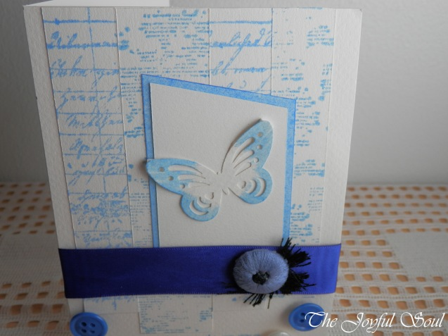 Butterfly in Blue 3
