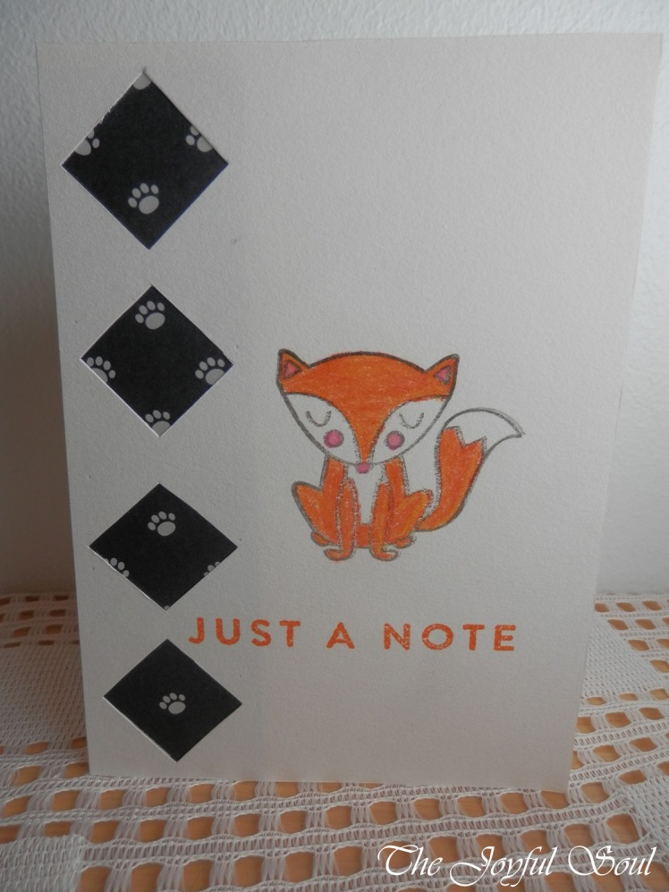 Just a Foxy Note