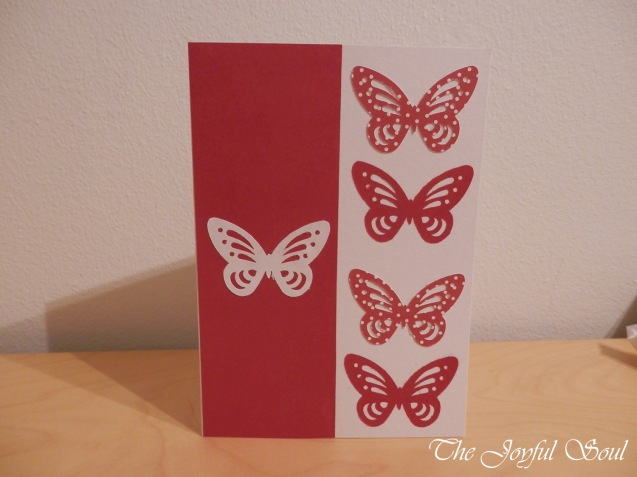Butterfly Cut-Out Card 2
