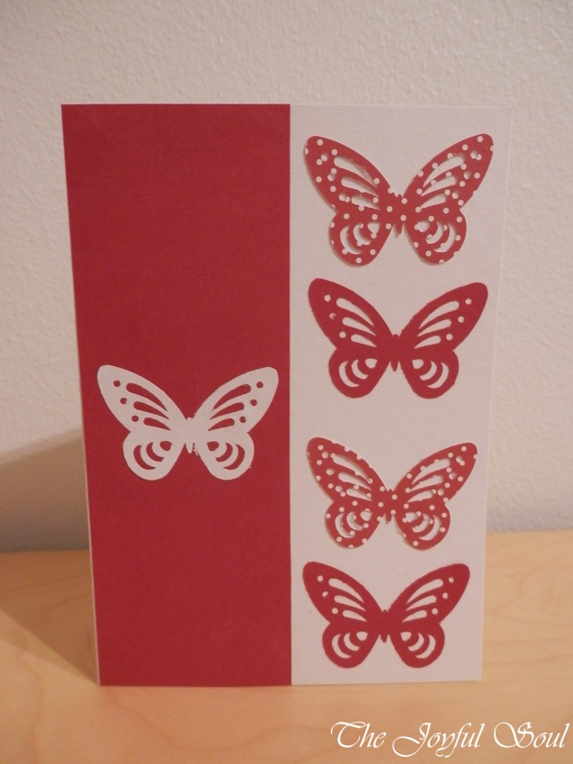 Butterfly Cut-Out Card