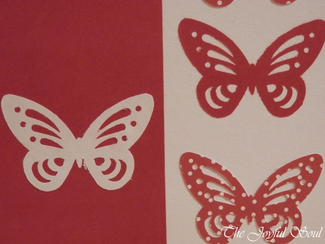 Butterfly Cut-Out Card 3