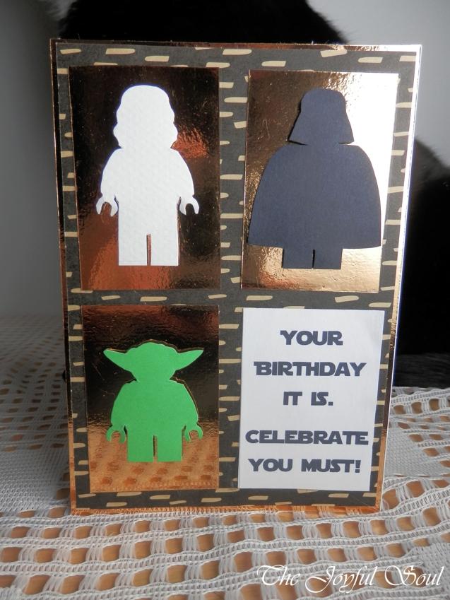 Lego Star Wars Birthday Card