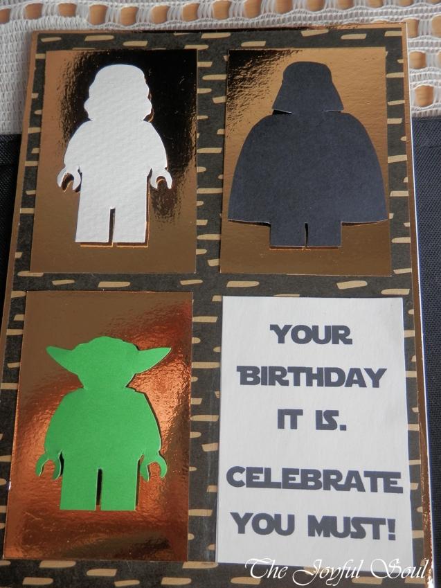 Lego Star Wars Birthday Card 2