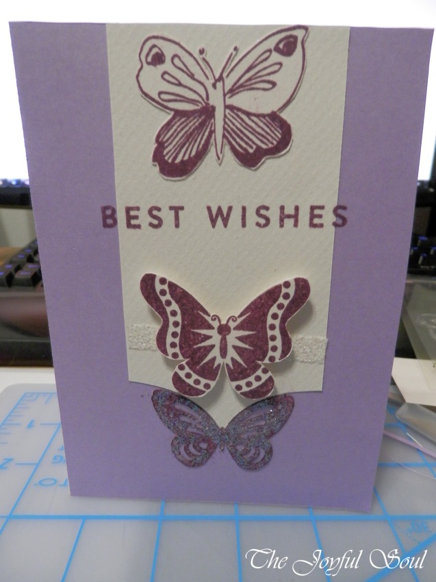 Purple Butterfly Wishes