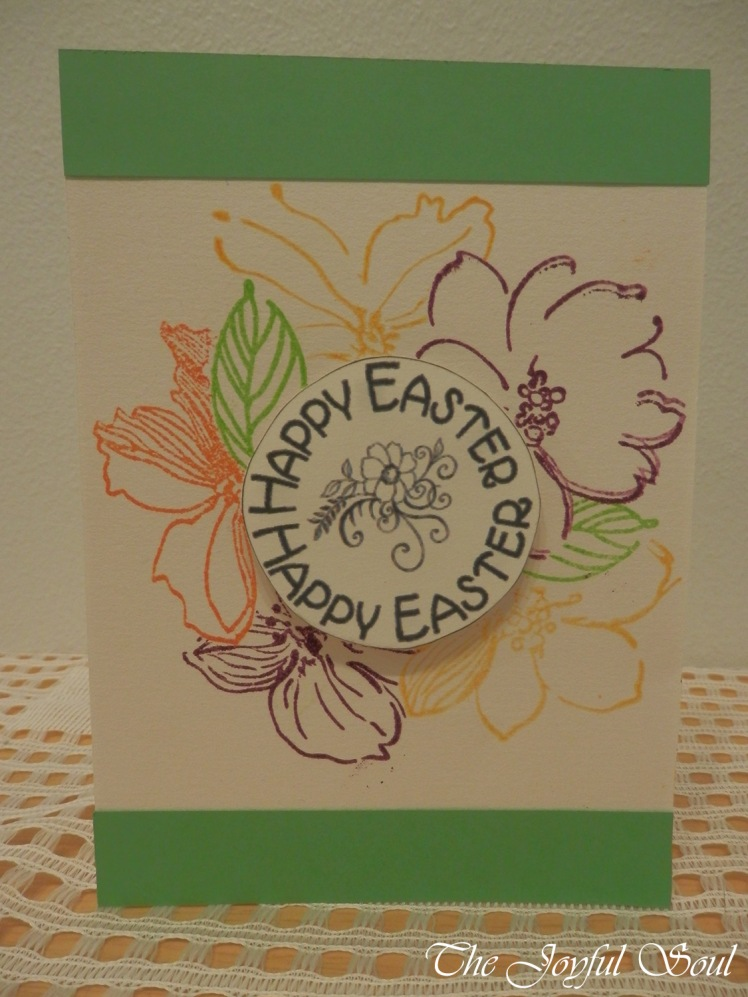 Floral Easter Wreath