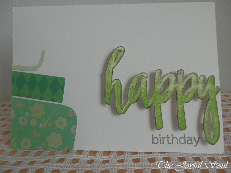 Happy in Green