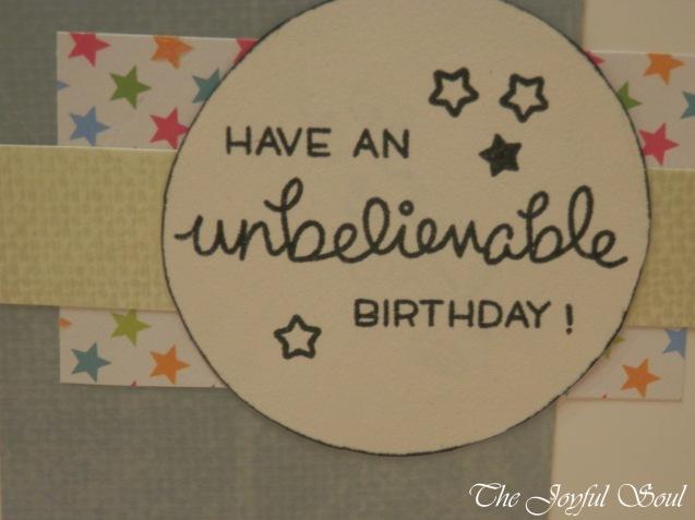 Unbelievable Birthday 2