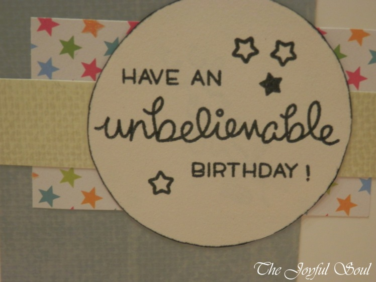 Unbelievable Birthday 2