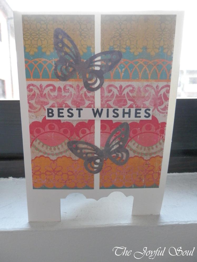 Oriental Screen Card