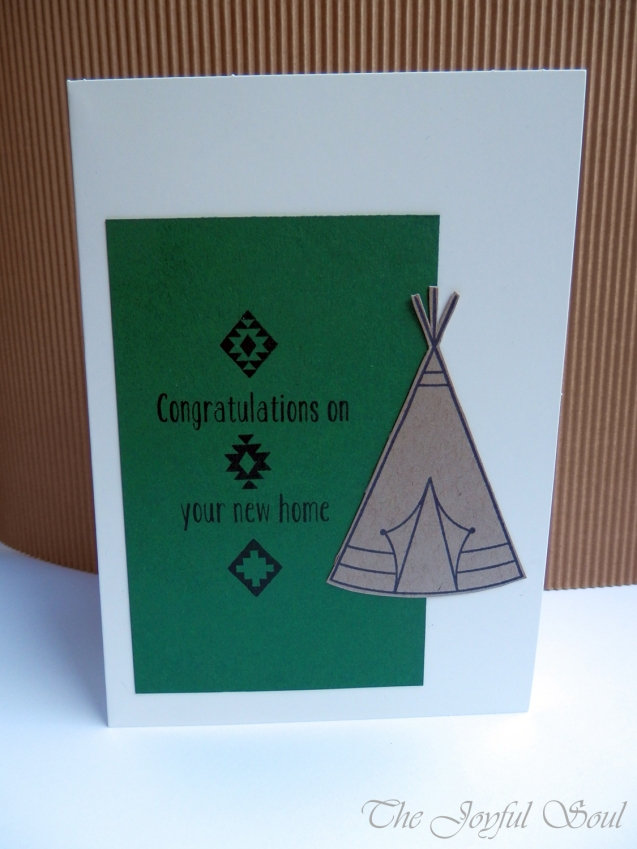 Green and Kraft Teepee