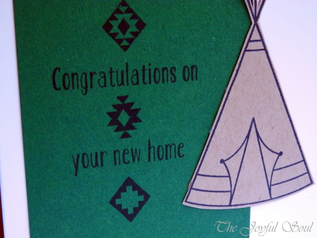 Green and Kraft Teepee 2