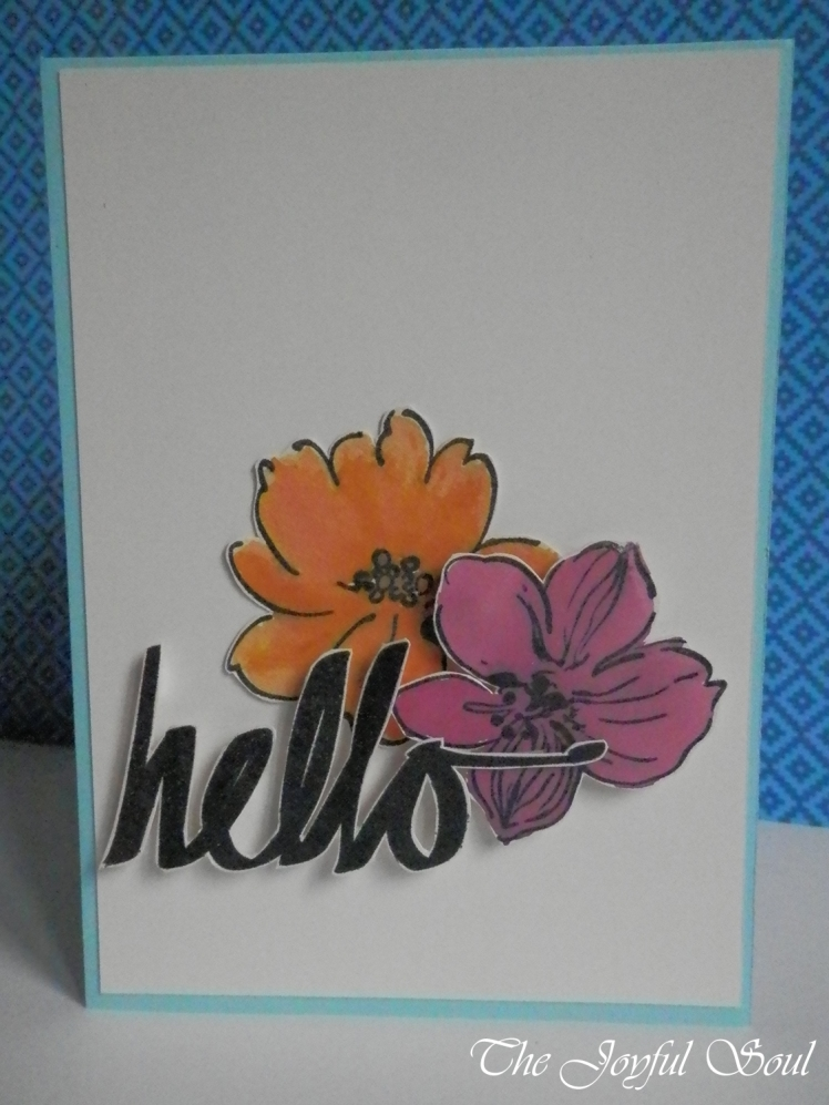 Flowery Hello
