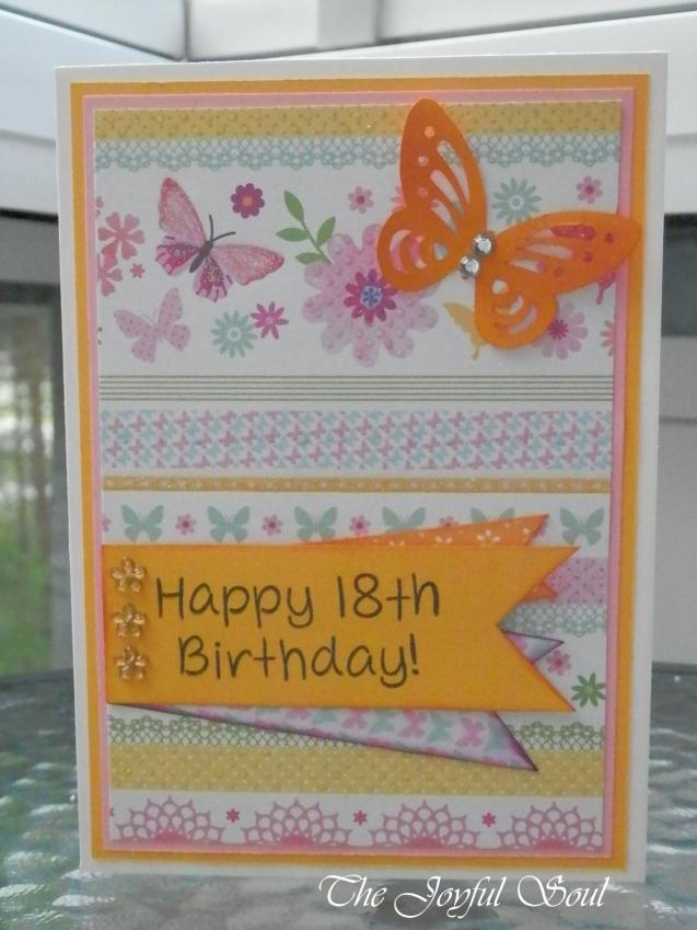 18th Birthday Butterfly