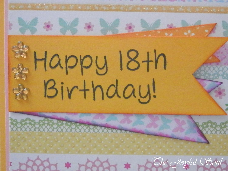 18th Birthday Butterfly 2