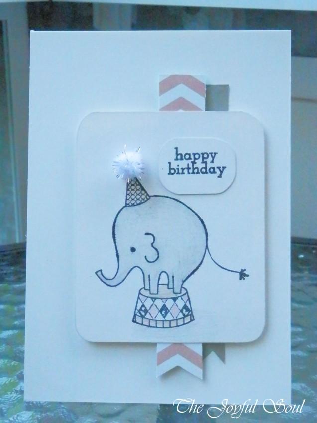 Sweet Birthday Elephant