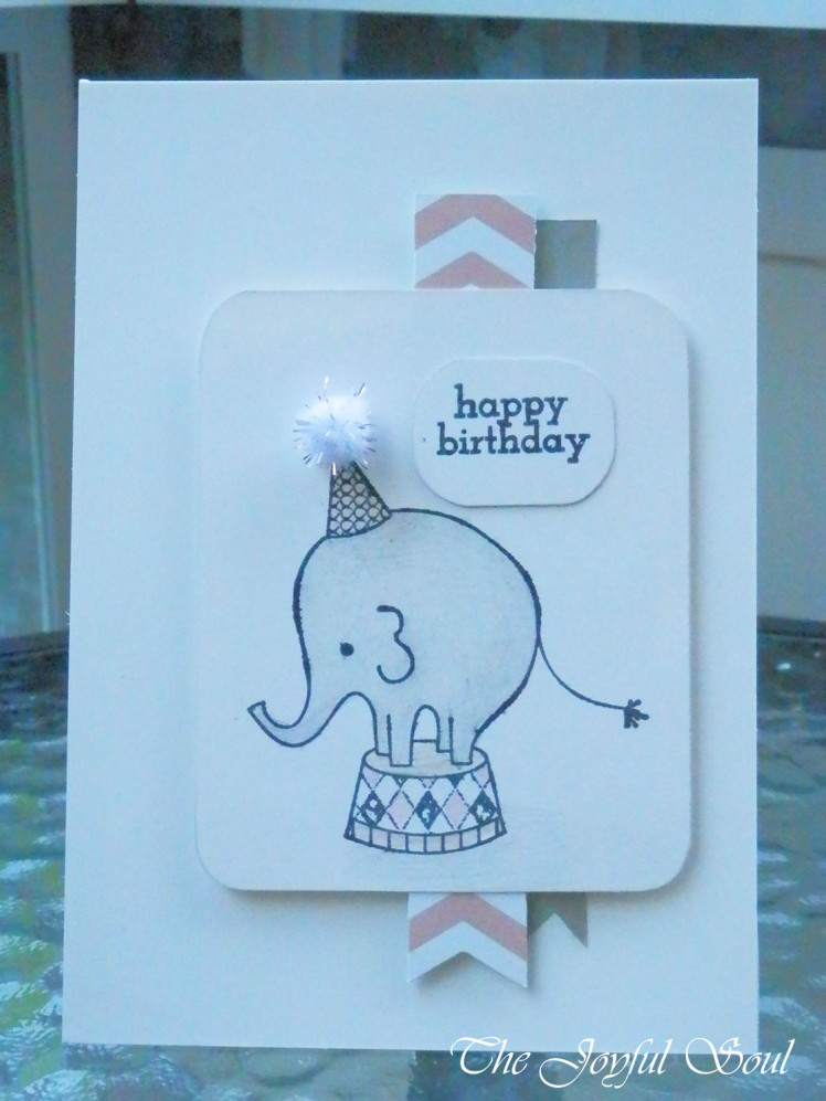 Sweet Birthday Elephant