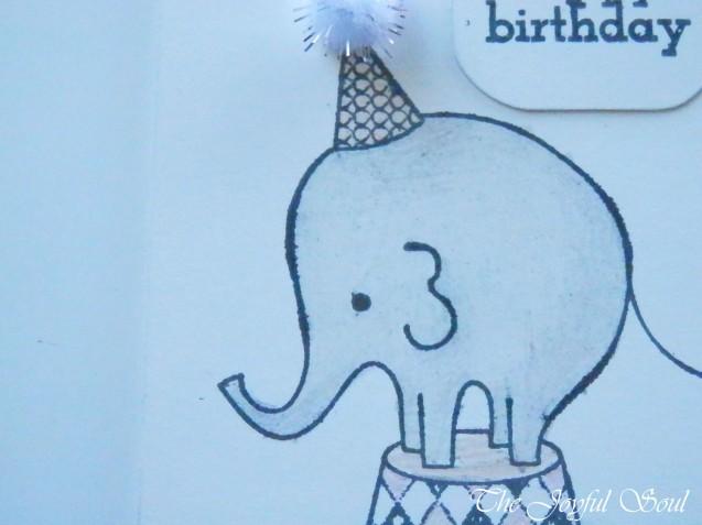 Sweet Birthday Elephant 2