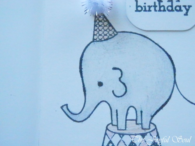 Sweet Birthday Elephant 2