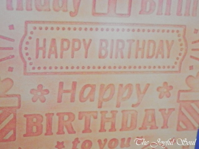 Birthday in Orange 2