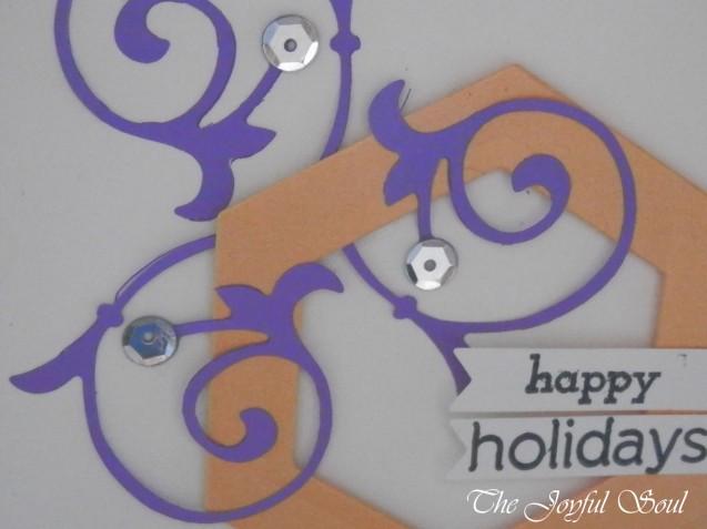 Purple Christmas Vines 2
