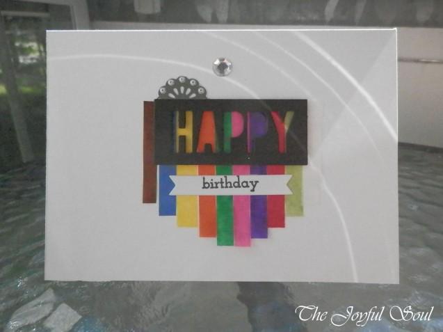 Colourful Happy Birthday