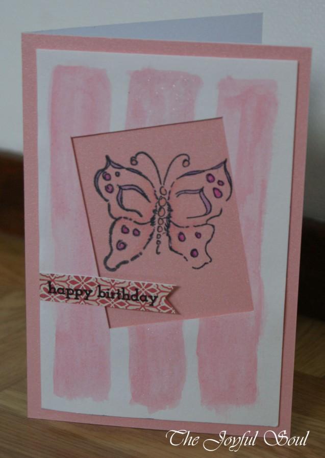 Pink Butterfly Window
