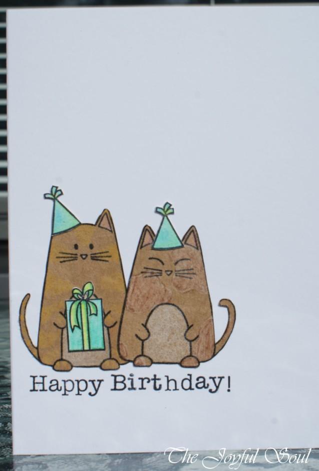 Purrfect Birthday Cats