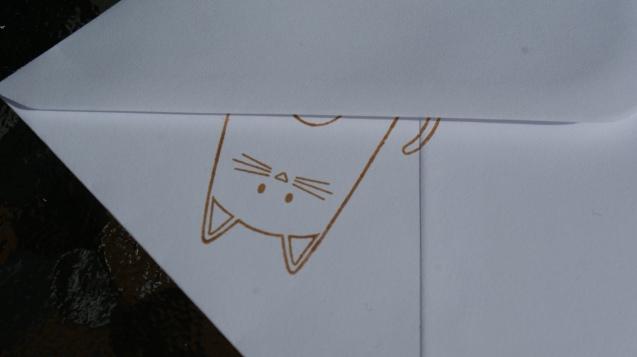 Purrfect Birthday Cats Envelope