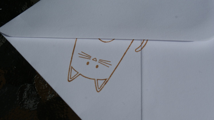 Purrfect Birthday Cats Envelope