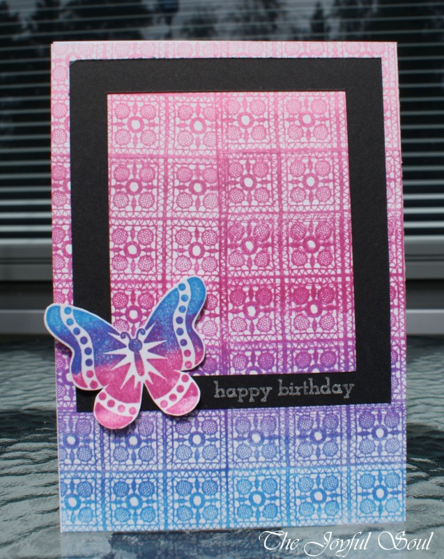 Gradient Butterfly Birthday