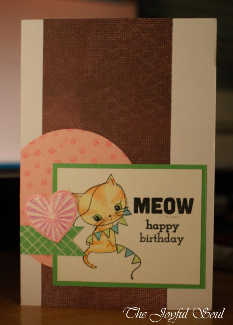 Cute Birthday Kitty