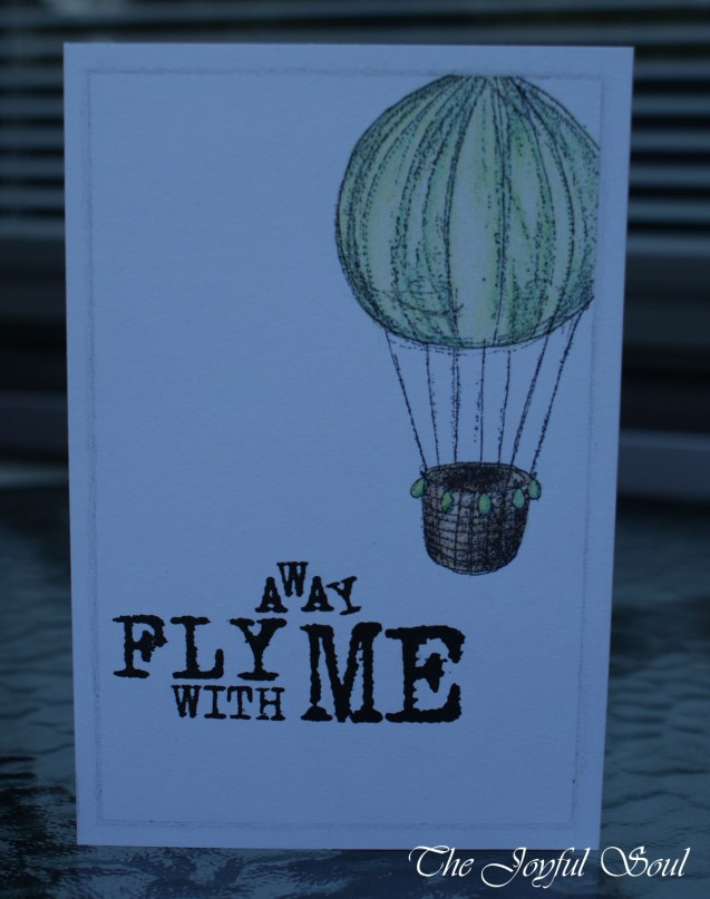 Fly Away Balloon