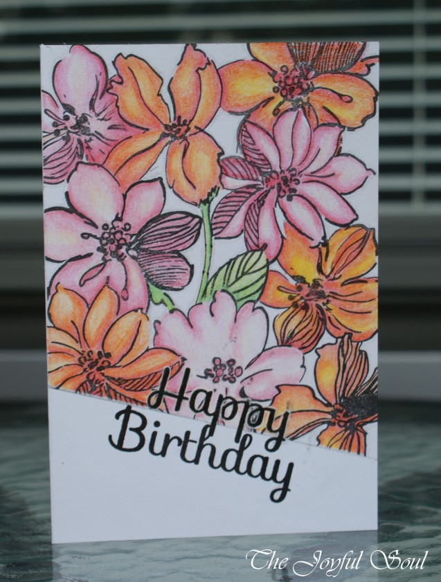 Bright Floral Birthday