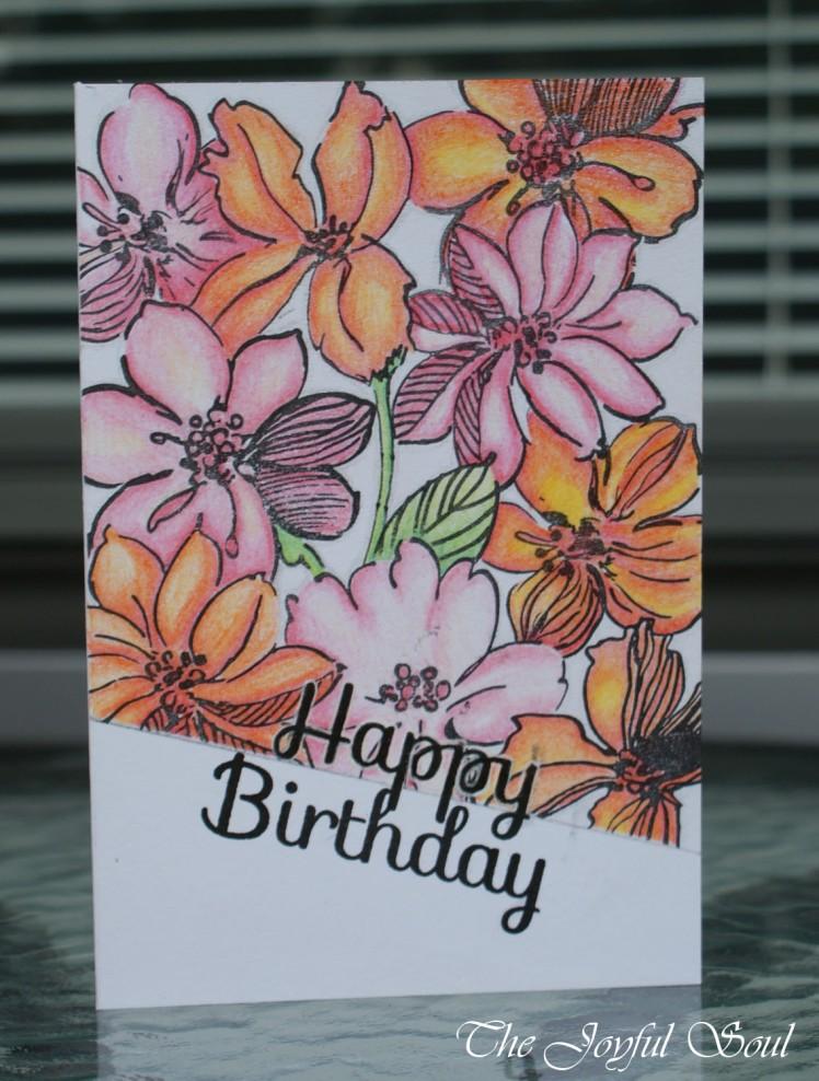 Bright Floral Birthday