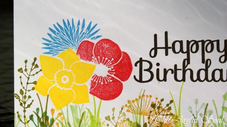 Birthday Flower Meadow 2