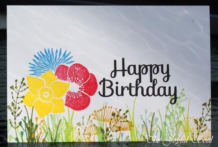 Birthday Flower Meadow