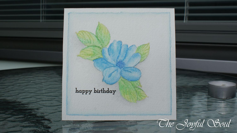 Soft Blue Flower