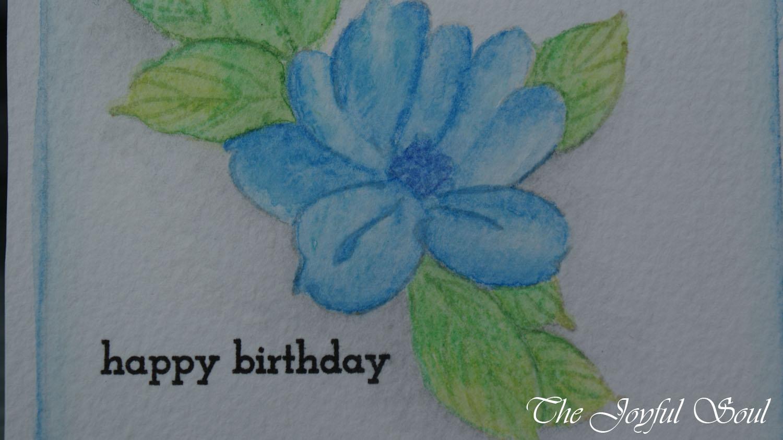 Soft Blue Flower 2
