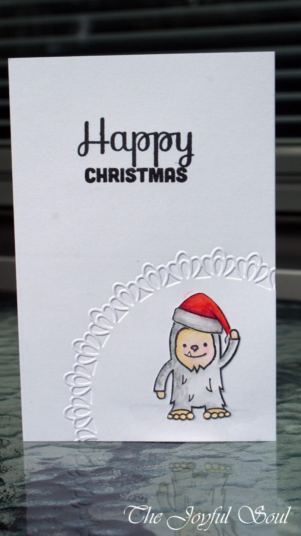 Simple Christmas Yeti