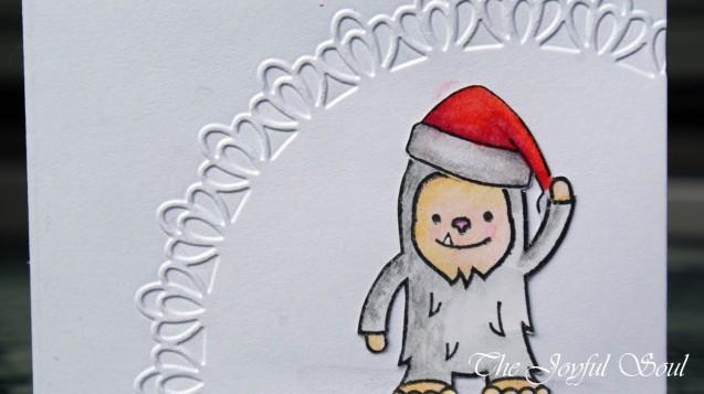 Simple Christmas Yeti 2