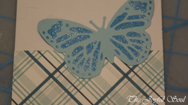 Blue Butterfly Thank You 2