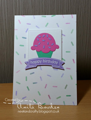 Muse inspiration card by Anita Bowden