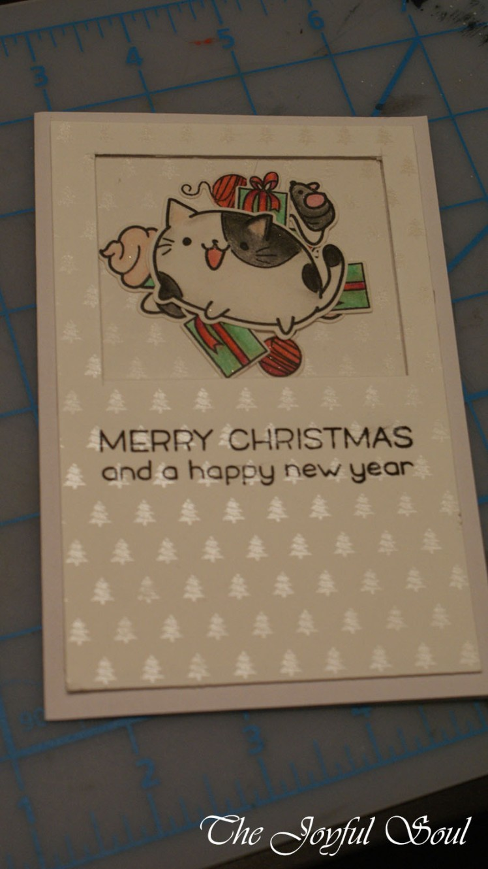 Christmas Cat Shaker