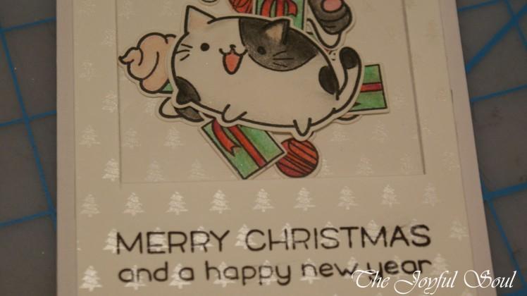 Christmas Cat Shaker 2