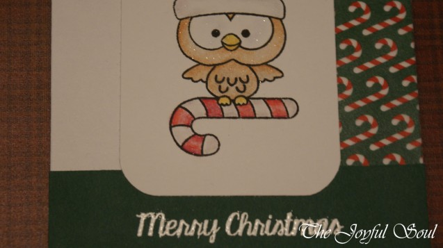 Candy Cane Owl 2