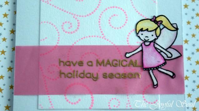 Pink Christmas Fairy 2