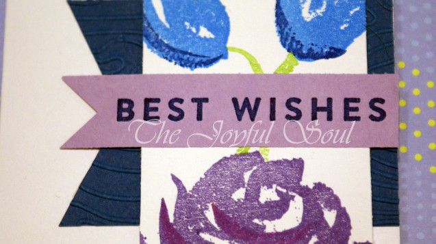 Floral Wishes in Purple and Blue 2